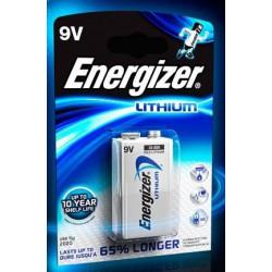 Piles Energizer Lithium 9V EL61 - ENERGIZER