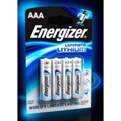Piles Energizer Lithium LR03 AAA - ENERGIZER