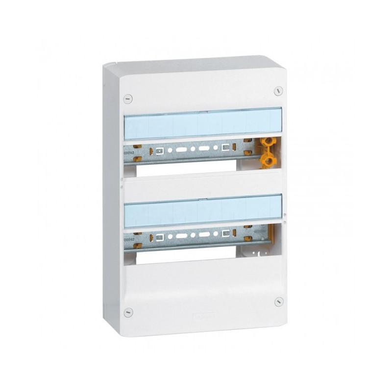 Coffret 2 rangées 13 Mod - Ip 30 - Ik05 - Blanc Ral 9010 (401212) - LEGRAND