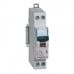 Disjoncteur DNX 10A - Uni+N -230V- À Vis (406773) - LEGRAND