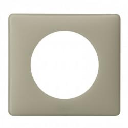 Plaque Céliane - Poudré - 1 poste - Argile (066711) - LEGRAND