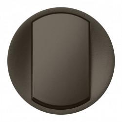 Enjoliveur Céliane - VV / poussoir - doigt large graphite (067901) - LEGRAND