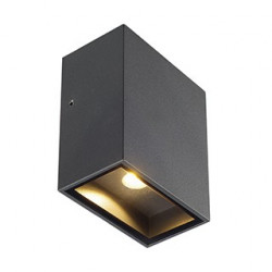 QUAD 1 XL applique carrée anthracite LED 1x3.2W 3000K IP44 - SLV