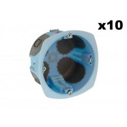 Lot 10 Boîtes  XL AIR'metic diam 67 profondeur 40mm (52061) - EUROHM