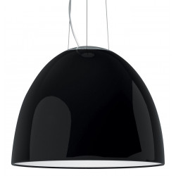 Suspension NUR GLOSS noir - Halogène 250W - ARTEMIDE