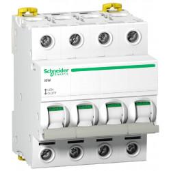 Acti9, iSW interrupteur-sectionneur 4P 63A 415VAC (A9S65463) - SCHNEIDER