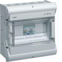 Coffret Vector IP55 installation photovoltaique AC (VE112PVAC) - HAGER