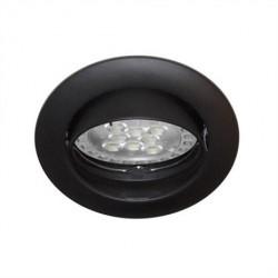 Spot orientable Noir GU10 max 50W (KSA101205) - INDIGO