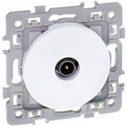 Prise TV blanche Square (60264) - EUROHM