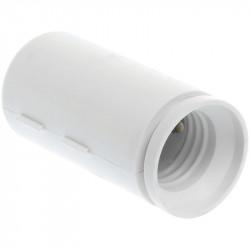 Douille de chantier E27 blanche (62153) - EUROHM