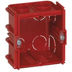 Boîte monoposte Batibox pour maçonnerie 1 poste carrée associable profondeur 50mm (080151) - LEGRAND
