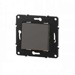 Poussoir Altège 6A avec connexion à bornes automatiques finition Nuage (BTAL07CD) - LEGRAND