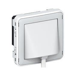 Détecteur d'inondation Plexo composable IP41 gris et blanc (069593) - LEGRAND