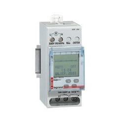 Inter Horaire Programmable Digital Lexic - Auto - Multifonction -2 Sortie 250 V (412641)