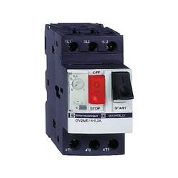Disjoncteur moteur GV2ME 2,5 à 4 A 3P 3d déclencheur magnétothermique