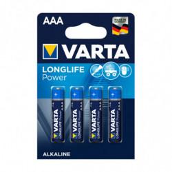 4 piles LR03 AAA Longlife...