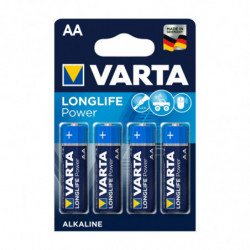 4 piles LR6 AA Longlife...