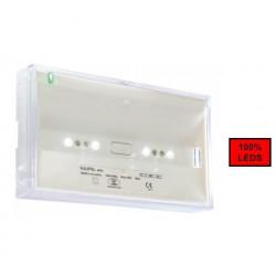 BRIO+ 400L A SATI Leds 250lm NP IP42 IK07 (236701) - KAUFEL