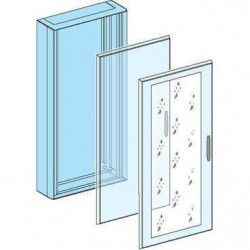 Porte transparente pour coffret 15 modules (08135) - SCHNEIDER