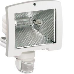 Projecteur éco énergie 400W détect IR 140 blanc (52032) - HAGER
