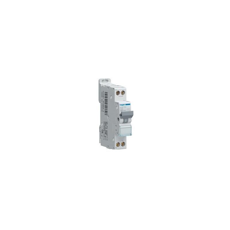 Disjoncteur 1P+N 4.5/6kA C-16A 1M