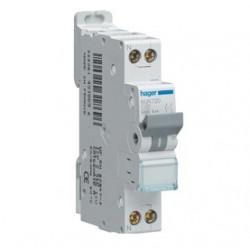 Disjoncteur 1P+N 4.5/6kA C-40A 1M (MJT740) - HAGER