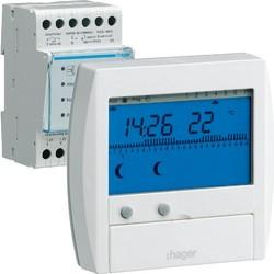 Gestionnaire d'énergie confort 2 zones 7j (49111) - HAGER