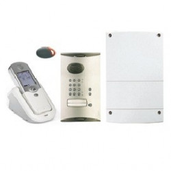 Kit Interphone 1 logement à code (LCP02F) - HAGER