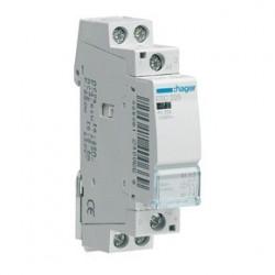 Contacteur 25A, 2F, 230V (ESC225) - HAGER