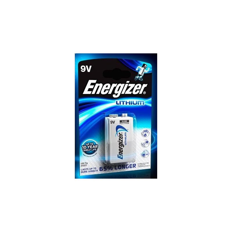 Attrayant Piles Energizer Lithium 9V EL61   ENERGIZER