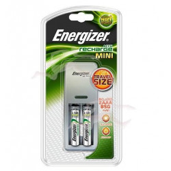 Mini chargeur 2 canaux 850mAh - ENERGIZER