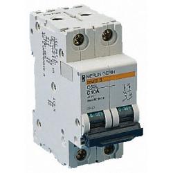 Disjoncteur C60L 2P 16A C (25424) - SCHNEIDER