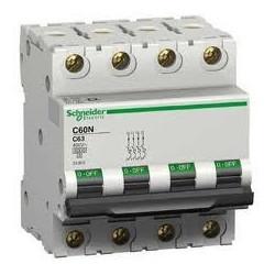Disjoncteur C60L 4P 10A B - SCHNEIDER