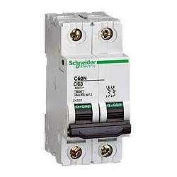 Disjoncteur C60L 2P 10A B - SCHNEIDER
