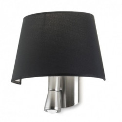 Applique Balmoral - Abat-jour Noir - LEDS-C4