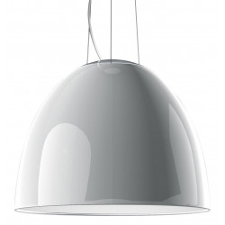 Suspension NUR GLOSS blanc - Halogène 250W - ARTEMIDE