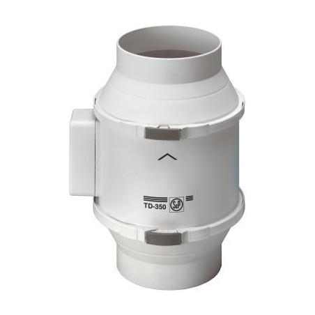 Extracteur TD-350/125 pour conduit diamètre 125
