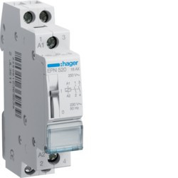 Télérupteur 2F 230V (EPN520) - HAGER