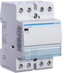 Contacteur 40A 4F 230V (ESC440) - HAGER
