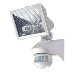 Projecteur Avec Détecteur 500W Blanc (1020963) - THEBEN