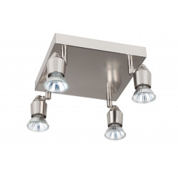 BOMBA 4 SQUARE  Satin Nickel - VERDACE