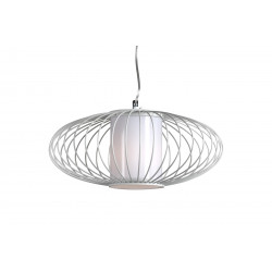 Suspension FIREFLY 1xE27 D40 Blanc - VERDACE