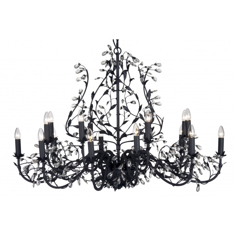 lustre michelangelo 18l oval 120x80 noir verdace seulement 1 262 09. Black Bedroom Furniture Sets. Home Design Ideas