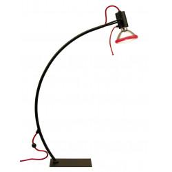 Lampe Bureau PARROT 1xPAR30 Noir+TOUCH - VERDACE