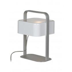 Lampe Bureau KWADRO ALU KAP BLANC 17x15x24 - VERDACE