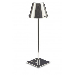 Lampe Bureau VIRGIN Chrome + KAP - VERDACE