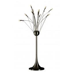 Lampe Bureau QUAFFLE 12x5W NIKKEL MAT+DIMMER