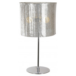Lampe Bureau COSMO Chrome H65 3x60W E27