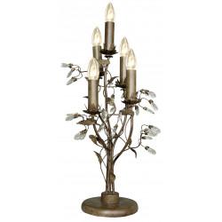Lampe à poser MICHELANGELO 5xE14 RUSTY - VERDACE