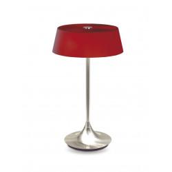 Lampe à poser NOTAR 3xE14-40W DIM.NIKK+GL.ROOD - VERDACE